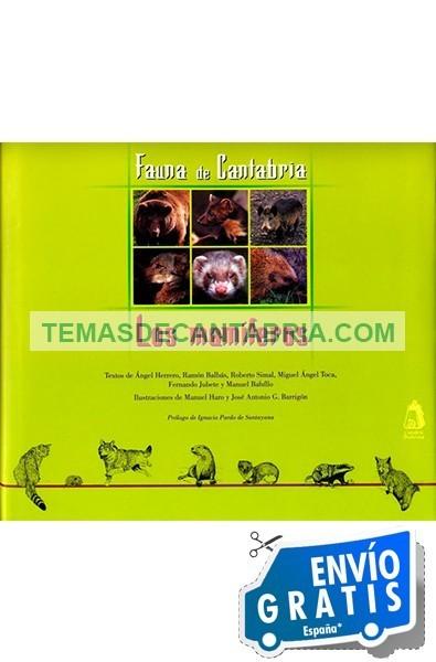 FAUNA DE CANTABRIA. VOL.2 LOS MAMÍFEROS