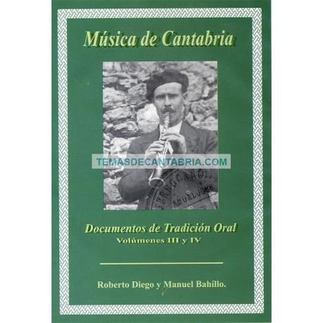 MÚSICAS DE CANTABRIA VOL. III Y IV