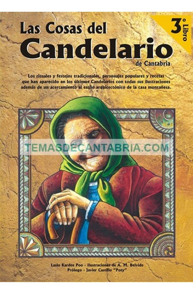 LAS COSAS DEL CANDELARIO DE CANTABRIA LIBRO 3