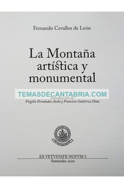 LA MONTAÑA ARTÍSTICA Y MONUMENTAL